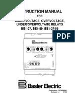 BE1 27, BE1-59, BE1-2759 Undervoltage, Overvoltage,Underovervoltage Relays