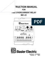 BE1 51 Time Overcurrent Relay