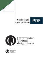 39120057 Sociologia de La Educacion Emilio Tenti Libre