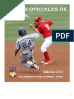 REGLAS OFICIALES DEL BEISBOL - 2013 - W.pdf