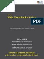 aula 2 - moda comunicação e cultura