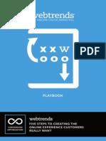 Playbook Optimize Customer Experience 2013 Regular