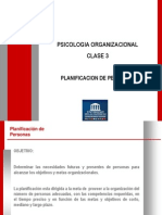 Clase 03 Planificación de Personas