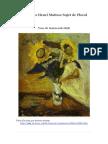 Peintures Henri Matisse Sujet de Floral -- Artisoo