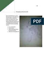 Photograph Your Illustration Draft