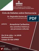Ciclo de Debates Sobre Democracia 2013