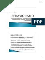 Behaviorismo Ss