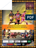 Bangkok International Rugby Tens 2014