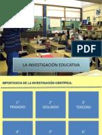 2 LA INVESTIGACIÓN EDUCATIVA