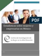 Estadísticas sobre mujeres y empresarias en México