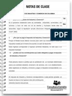 Nota de Clase 65 El Impuesto de Industria y Comercio en Colombia(1)