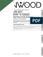 Kenwood Manuals VR507