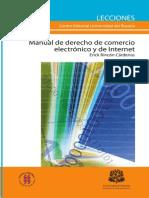 Manual de Derecho de Comercio Electronico