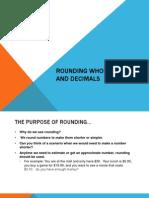 Rounding Decimals Powerpoint