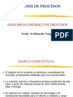 Clase 1 análisis económico de procesos FAV(1)