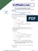 The AutoLisp Intermediate Tutorial