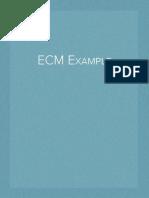 ECM Example