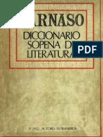 Parnaso - Diccionario Sopena de Literatura (Tomo II)