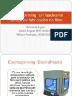 Presentación Electrohilado