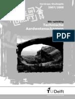 BSc Technische Aardwetenschappen TU Delft 2007-2008
