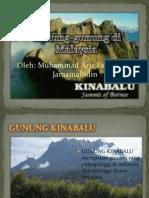 Gunung-Gunung Di Malaysia_aris