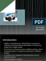 3d Printing(Final Ppt)