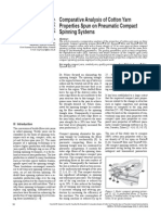 2013-5-30--p Comparative Analysis of Cotton Yarn Properties Spun on Pneumatic Compact Spinning Systems- p