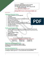 Ceogc Job Leads March 10th 2014