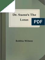 Dr Suesss the Lorax Wilson Bobbie