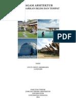 Arsitektrur Berdasarkan Tempat dan Iklim
