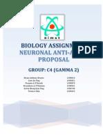 Bio Assignment - Neuronal Anti-Aging Proposal
