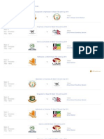 T20 World Cup 2014 schedule