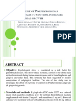 cortisol on p.gingivalis