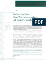 Torrens Background