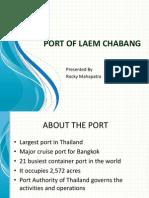 Port Chabang Ppt