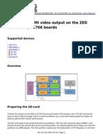 Zedboard Ubuntu