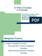 10.the Role of Surgery in Cancer Treatment