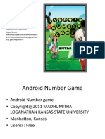 Android Number Game