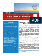 South China Sea Bulletin Vol.2 No.3 (1 March 2014)
