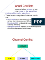 Channel Conflicts