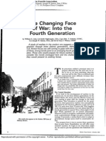 The Changing Face of War - Into the Fourth Generation