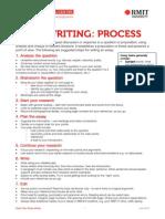 essay writing process rmit