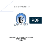 The Constitution of the University of Bagamoyo (May 2013)