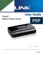 TD-8817 User Guide