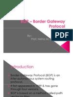 BGP - Border Gateway Protocol
