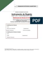 Fichas registo/Coordenador - versão optimizada