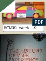 Bcm301 Week 10