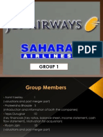 Jet Sahara merger