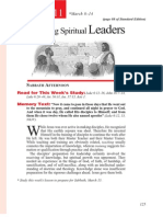 1st Quarter 2014 Lesson 11 Discipling Spiritual Leaders Teachers' Edition