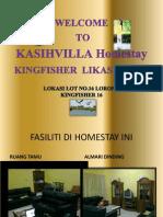 Homestay Kasihvilla Kingfisher Sabah